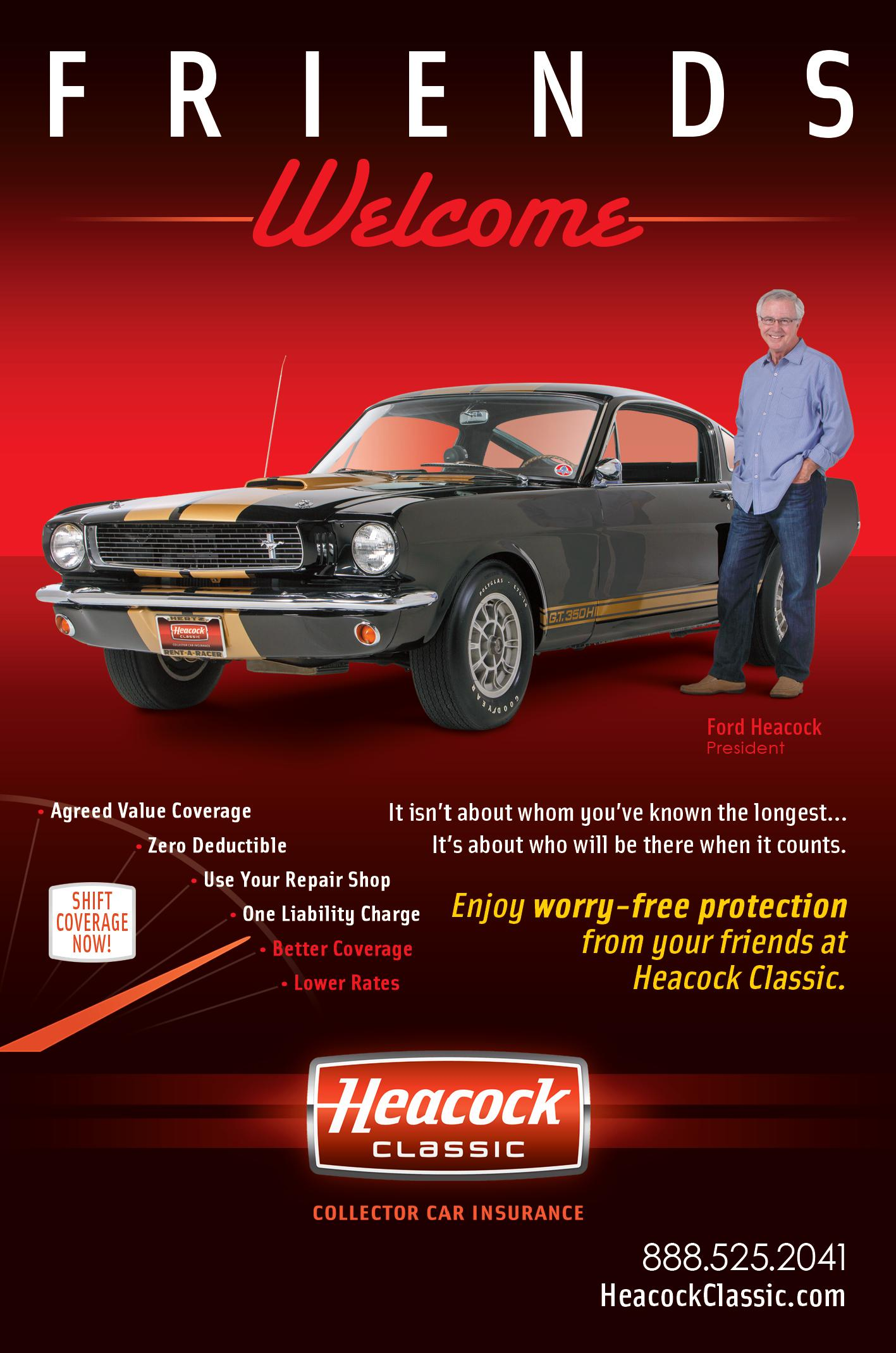 Heacock Classic Collector Car Insurance