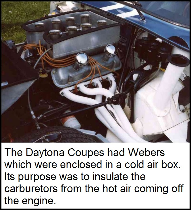 Daytona Coupe engine