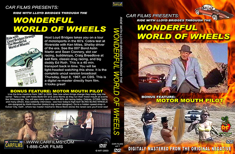 Wonderful World of Wheels DVD