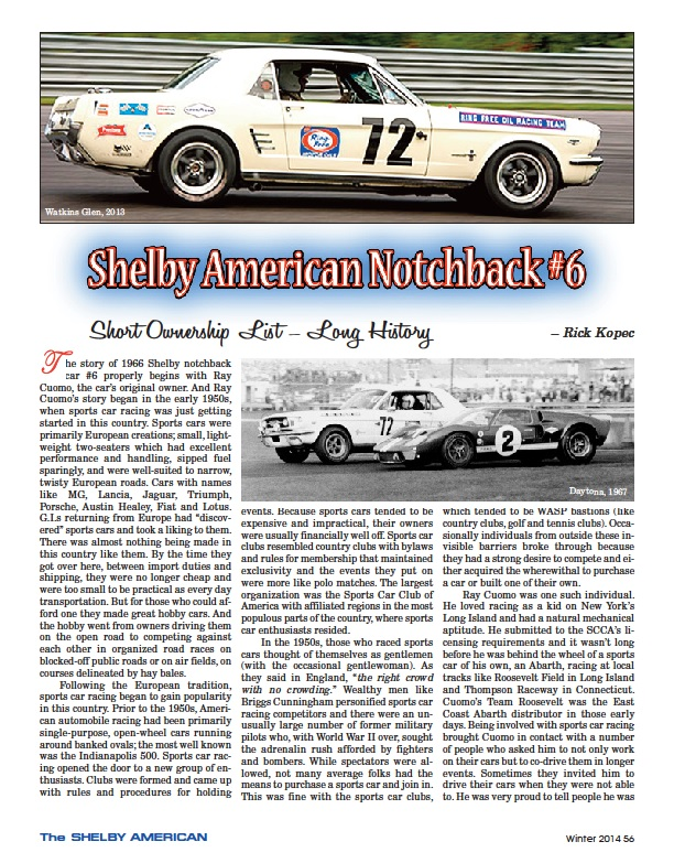 The Shelby American